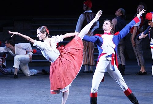 Movie: Bolshoi Ballet's The Flames of Paris