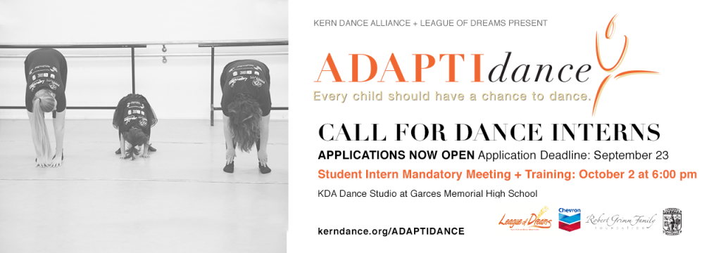 This image has an empty alt attribute; its file name is kda_home_slider_adaptidance_call-for-dancers_2019-1024x360.png
