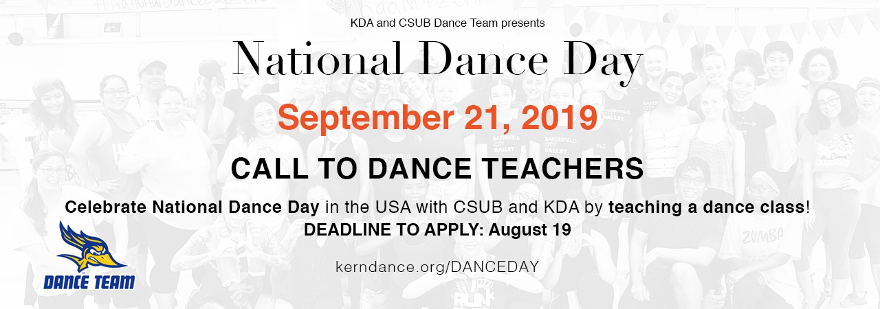 National Dance Day 2019